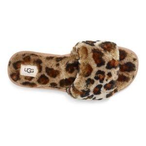 8 new UGG leopard Cozette Amphora slippers slides